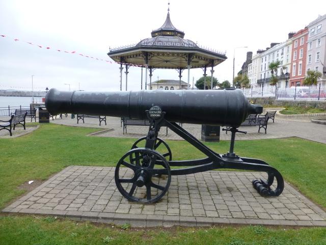 Crimean War cannon, White Star Line Parade Grounds, Cobh