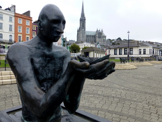 Navigator, Cobh with St Colman's Cathedral behind