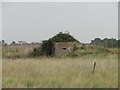 TM3338 : Type FW3/22 pillbox at Bawdsey marshes by Adrian S Pye