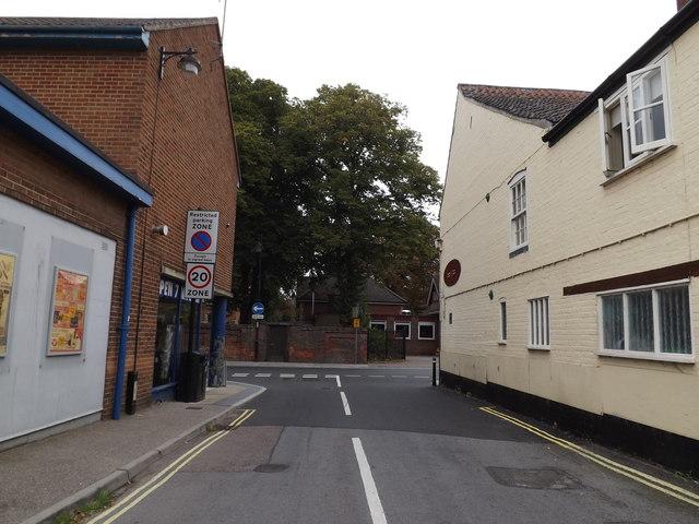 Priory Lane, Bungay