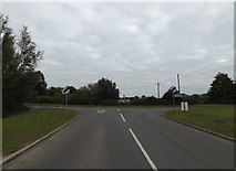 TM2885 : High Road, Wortwell by Adrian Cable