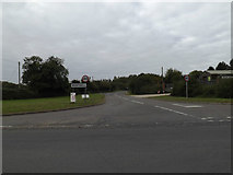 TM2885 : Entering Wortwell on High Road by Adrian Cable