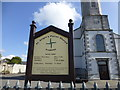 N7212 : Information board, St Brigid's Parish Church, Kildare by Kenneth  Allen
