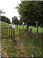 TM2684 : Footpath to Cook's Lane by Adrian Cable