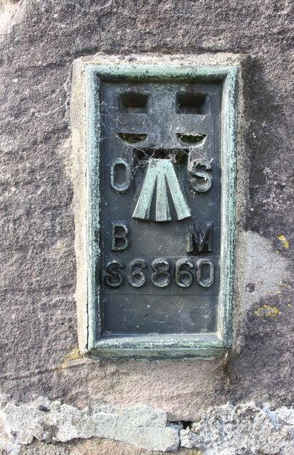 Benchmark on St Oswald's Church