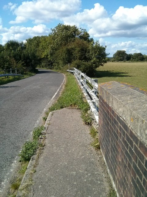 Bridge Wall, Barrier and path