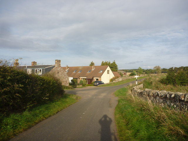 Rural East Lothian : Approaching Baxtersyke
