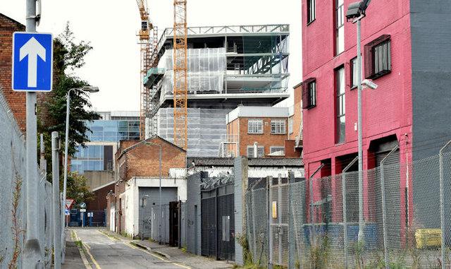 """Block """"B"""", University of Ulster site, Belfast - September 2014(5)"""