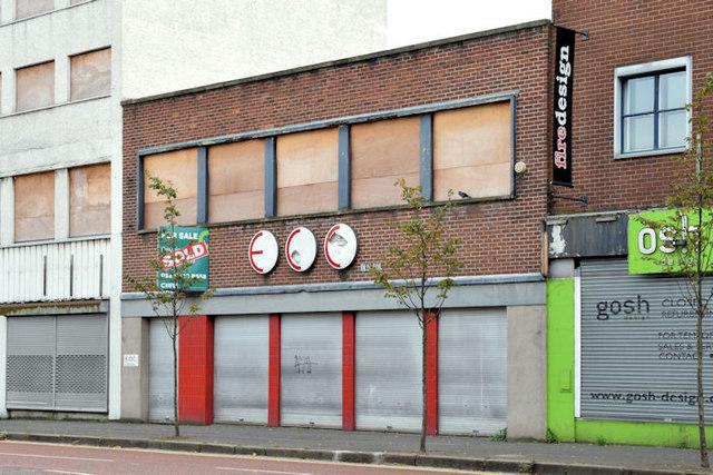Nos 101-107 York Street, Belfast (September 2014)