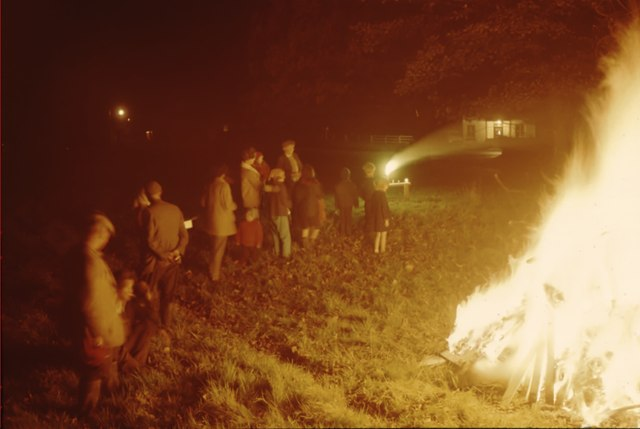 Bonfire night 1965