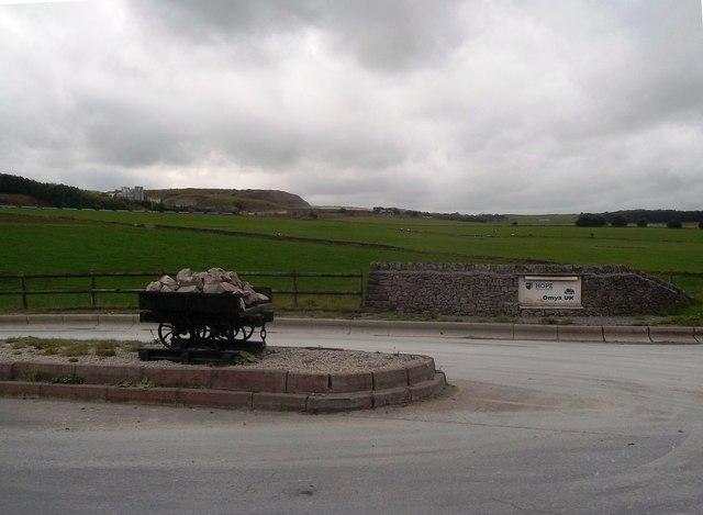Quarry Works Entrance