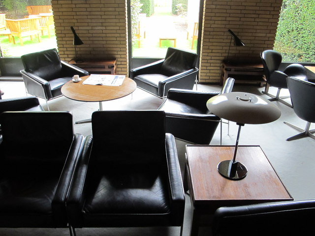 SCR lounge, St Catherine's College, Oxford