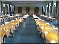 SP5206 : Dining hall of St Catherine's College, Oxford by David Hawgood