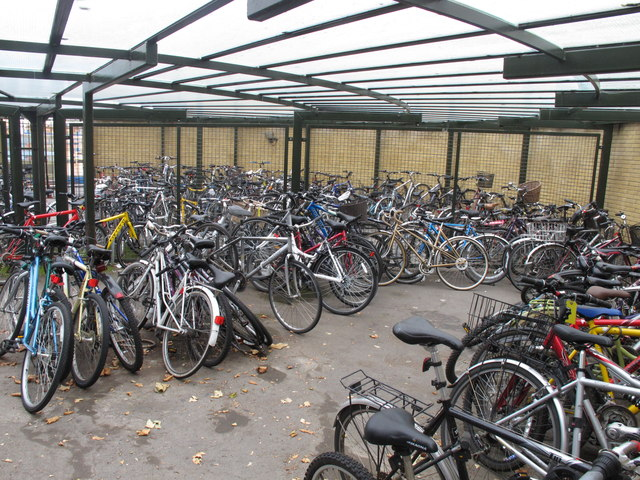 Bike shed of St Catherine's College, Oxford