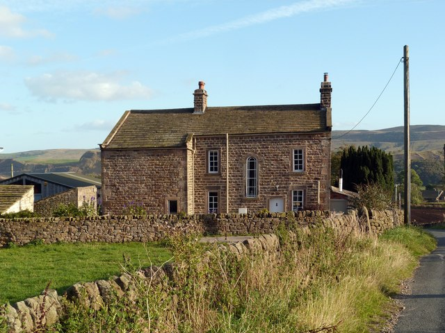 Farm house near Embsay Reservoir