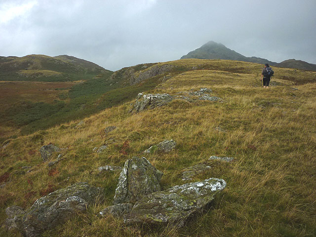 Brunt Fell and Stickle Pike