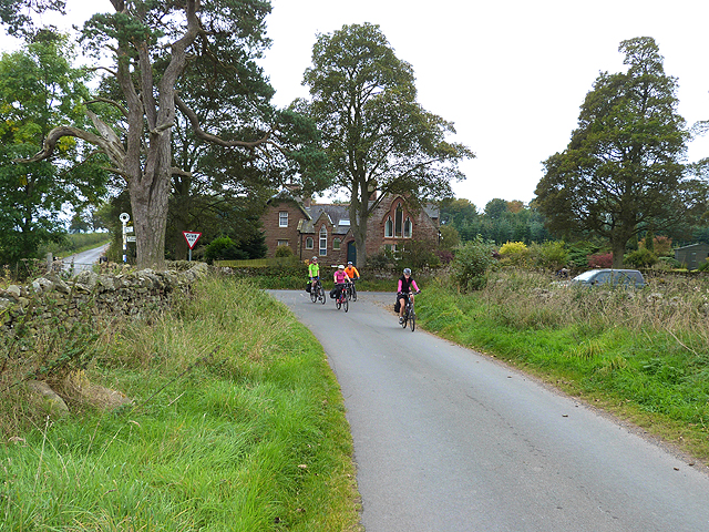 Cyclists on the C2C near Maughanby