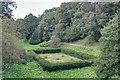 NZ6519 : Formal Garden by Mick Garratt