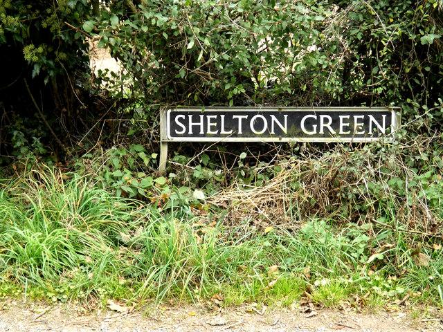 Shelton Green sign