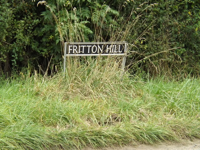 Fritton Hill sign