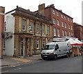 SZ3295 : Lloyds Bank in Lymington by Jaggery