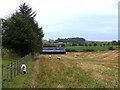 NY6135 : Field and shed near Ousby by Oliver Dixon