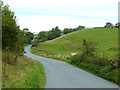 NY6138 : Switchback road from Melmerby to Gamblesby by Oliver Dixon
