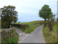 NY6235 : Y junction at Castle Slack by Oliver Dixon