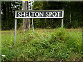 TM2290 : Shelton Spot sign by Adrian Cable