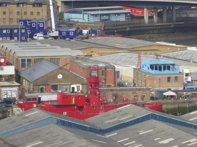 Lightship, Trinity Buoy Wharf, London