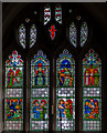 TQ5827 : Lady Chapel Window, St Dunstan's church, Mayfield by Julian P Guffogg