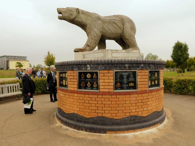 National Memorial Arboretum, Polar Bear Memorial
