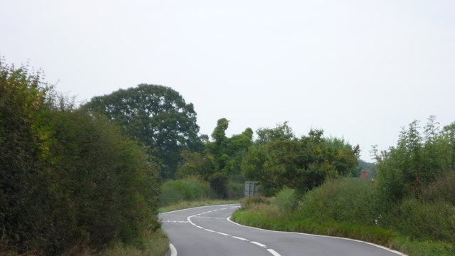 On the Shrewsbury to Ellesmere road near Pim Hill