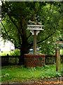 TM2384 : Starston Village sign by Geographer