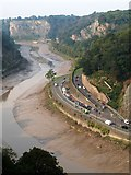 ST5673 : Avon gorge from Clifton Suspension Bridge by Derek Harper