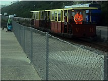 TQ3303 : By Marina Station on the Volk's Railway by Ed of the South