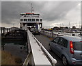SZ3395 : Onto the ferry at Lymington Pier by Jaggery