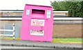 J3875 : Recycling bin, Belfast (September 2014) by Albert Bridge