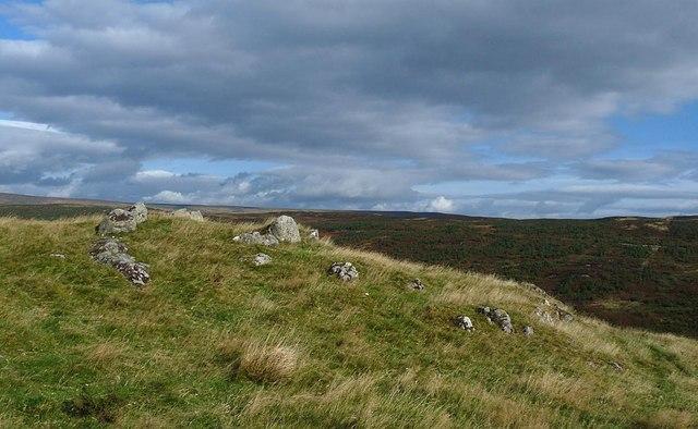 Kerb cairn, Caolas township, Sutherland