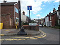 TM0421 : Signs at Queen's Road/Park Road Junction by Hamish Griffin