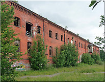 SK3436 : Former railway warehouse, Great Northern Road, Derby by Stephen Richards