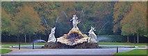 SU9185 : The Shell Fountain, Cliveden by Len Williams