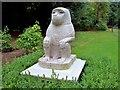 SU9085 : Baboon Statue, Cliveden by Len Williams