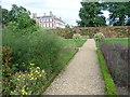 TQ1773 : The Kitchen Garden and Ham House by Marathon