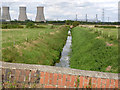 SK7983 : Catchwater Drain near Low Holland Farm by Alan Murray-Rust