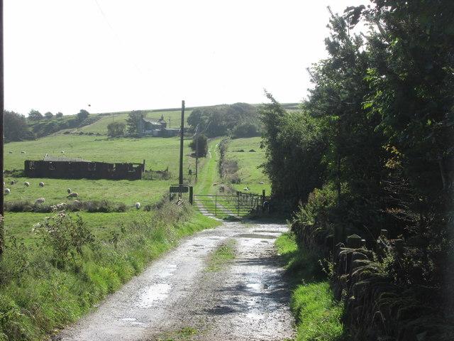 Bridleway at Lane Bottom
