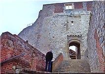 SU8347 : Farnham Castle, Gatehouse by Len Williams