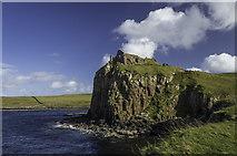 NG4074 : Duntulm Castle by Peter Moore