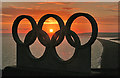 SY6873 : Olympic Rings by Anne Burgess