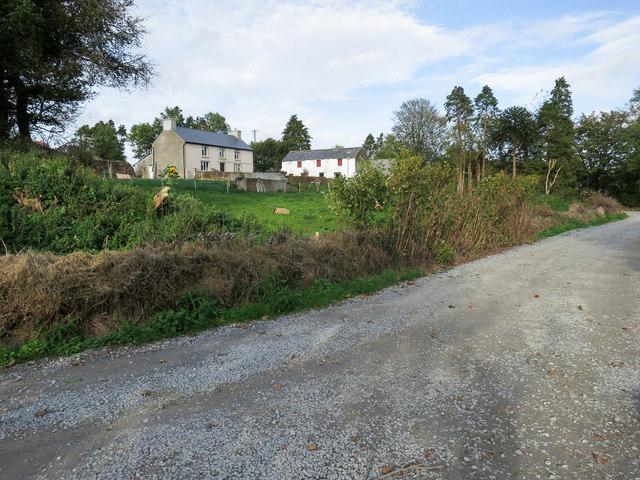 Farmhouse and farm buildings